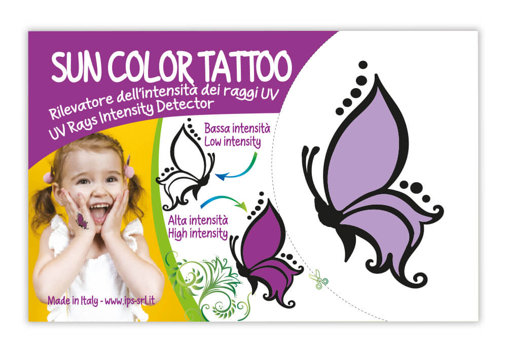 sun color tattoo